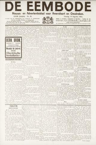 De Eembode 1914-08-18