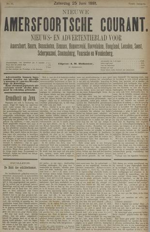 Nieuwe Amersfoortsche Courant 1881-06-25