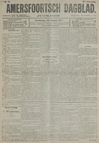 Amersfoortsch Dagblad / De Eemlander 1917-10-25