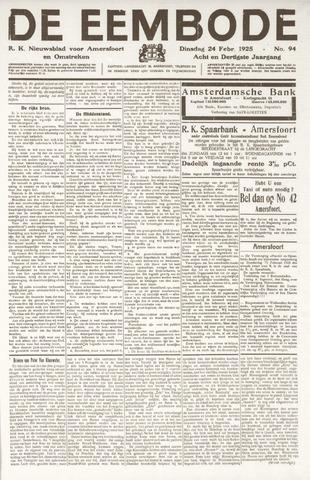 De Eembode 1925-02-24