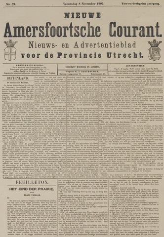 Nieuwe Amersfoortsche Courant 1905-11-08