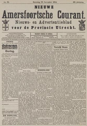 Nieuwe Amersfoortsche Courant 1914-11-28