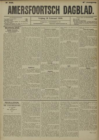 Amersfoortsch Dagblad 1908-02-28