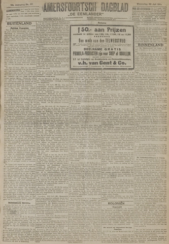 Amersfoortsch Dagblad / De Eemlander 1919-07-30