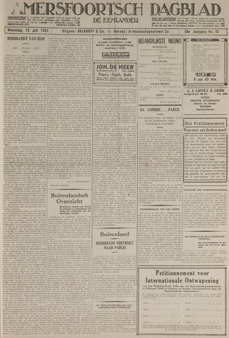 Amersfoortsch Dagblad / De Eemlander 1931-07-15