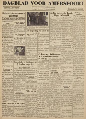 Dagblad voor Amersfoort 1946-09-25