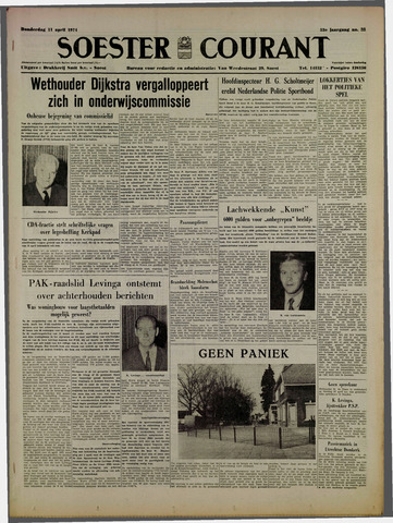 Soester Courant 1974-04-11