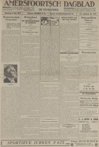 Amersfoortsch Dagblad / De Eemlander 1933-05-24