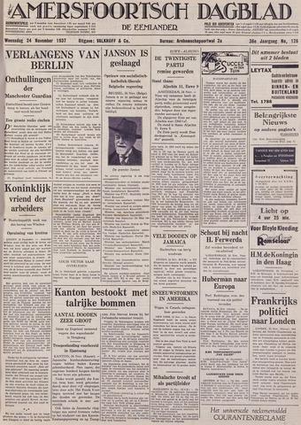 Amersfoortsch Dagblad / De Eemlander 1937-11-24