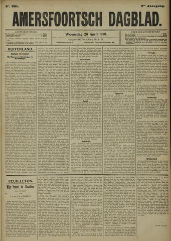 Amersfoortsch Dagblad 1910-04-20