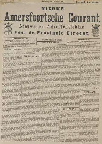 Nieuwe Amersfoortsche Courant 1903-10-24