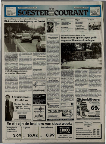 Soester Courant 1999-08-04