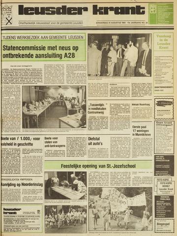 Leusder Krant 1983-08-25