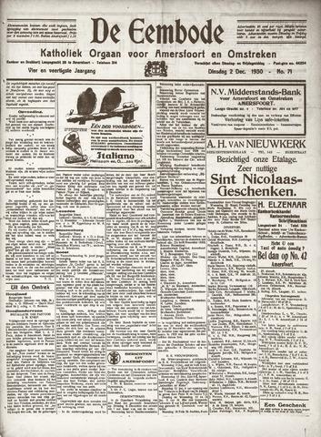 De Eembode 1930-12-02