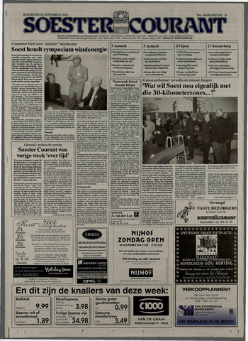 Soester Courant 2000-11-22