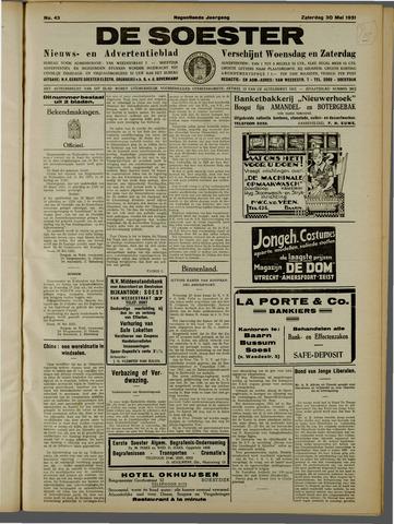 De Soester 1931-05-30