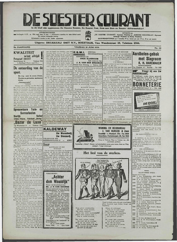 Soester Courant 1939-06-16
