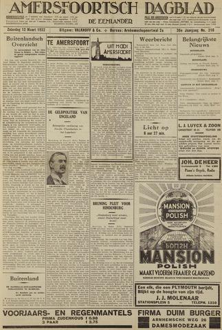 Amersfoortsch Dagblad / De Eemlander 1932-03-12
