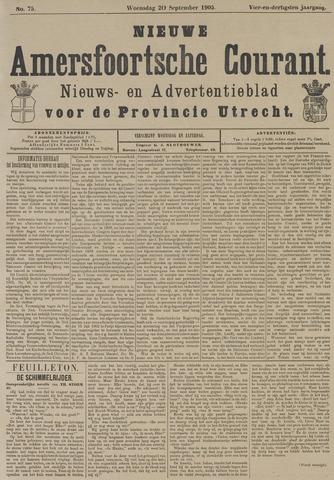 Nieuwe Amersfoortsche Courant 1905-09-20
