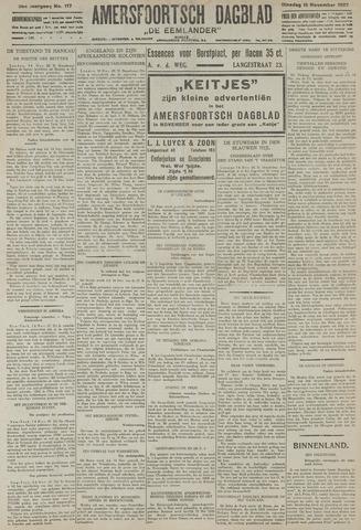 Amersfoortsch Dagblad / De Eemlander 1927-11-15