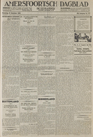 Amersfoortsch Dagblad / De Eemlander 1929-12-18