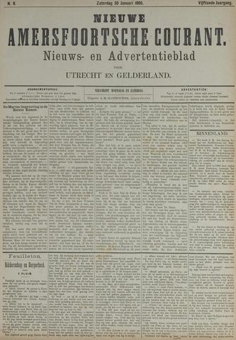 Nieuwe Amersfoortsche Courant 1886-01-30