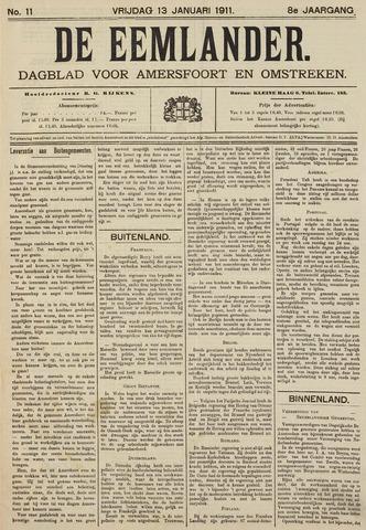 De Eemlander 1911-01-13