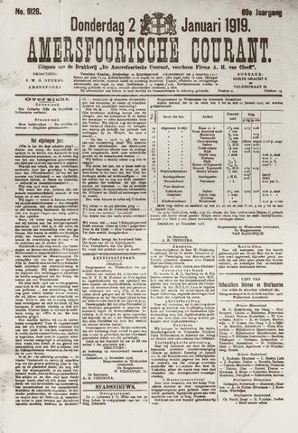 Amersfoortsche Courant 1919