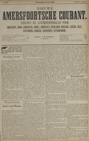 Nieuwe Amersfoortsche Courant 1884-06-18