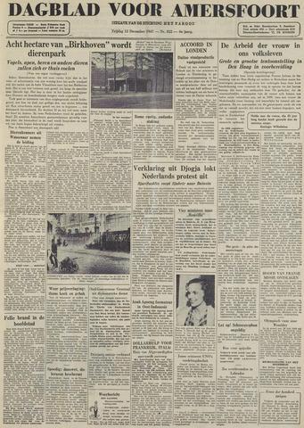 Dagblad voor Amersfoort 1947-12-12