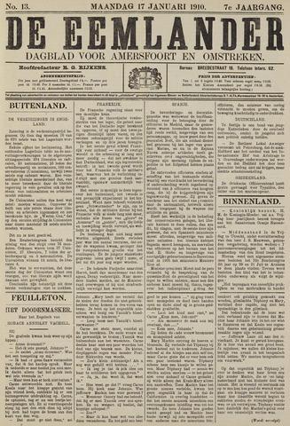 De Eemlander 1910-01-17