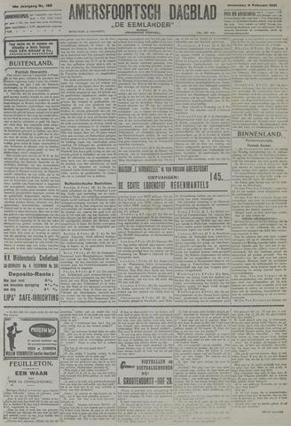 Amersfoortsch Dagblad / De Eemlander 1921-02-09