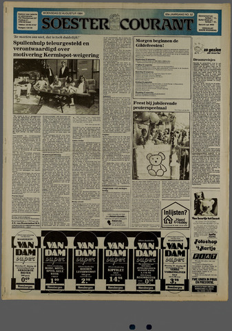 Soester Courant 1984-08-22