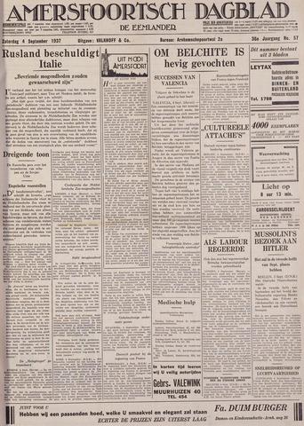 Amersfoortsch Dagblad / De Eemlander 1937-09-04