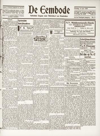 De Eembode 1934-06-12