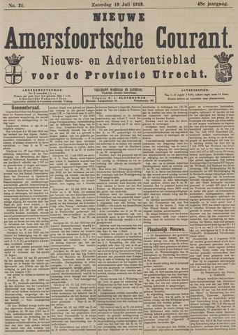 Nieuwe Amersfoortsche Courant 1919-07-19