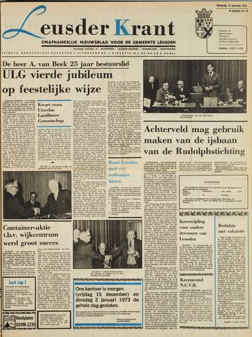 Leusder Krant 1972-12-14