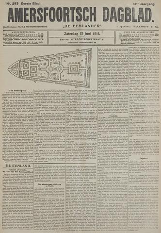 Amersfoortsch Dagblad / De Eemlander 1914-06-13