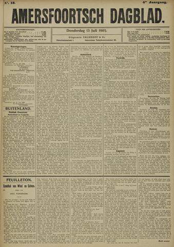 Amersfoortsch Dagblad 1905-07-13