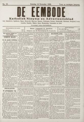 De Eembode 1908-11-14