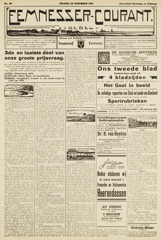 Eemnesser Courant 1924-11-28