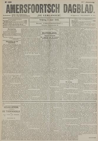 Amersfoortsch Dagblad / De Eemlander 1916-06-02