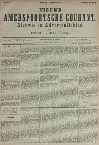 Nieuwe Amersfoortsche Courant 1888-08-22