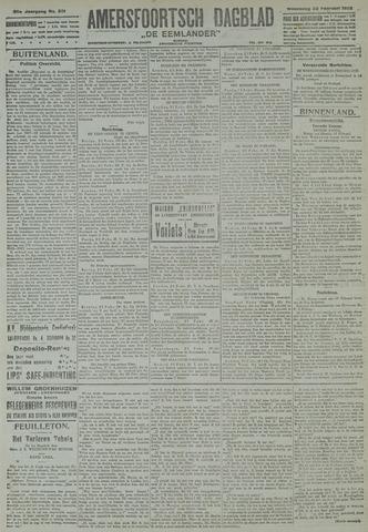 Amersfoortsch Dagblad / De Eemlander 1922-02-22