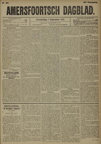 Amersfoortsch Dagblad 1911-09-07