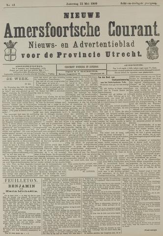 Nieuwe Amersfoortsche Courant 1909-05-22