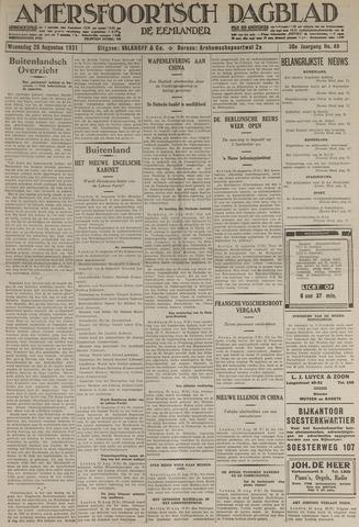 Amersfoortsch Dagblad / De Eemlander 1931-08-26