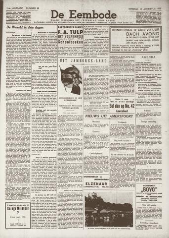 De Eembode 1937-08-10