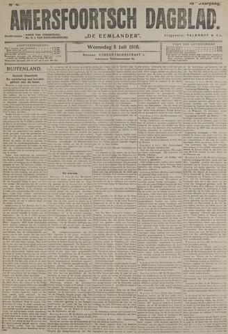 Amersfoortsch Dagblad / De Eemlander 1916-07-05