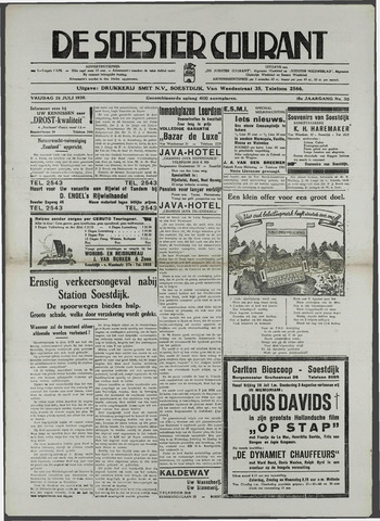 Soester Courant 1939-07-28